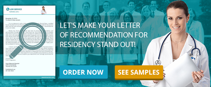 Recommendation Letter Writing Service Good Residency LoRs