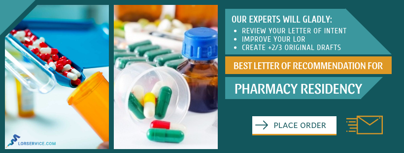 how to improve pharmacy residency letters of recommendation