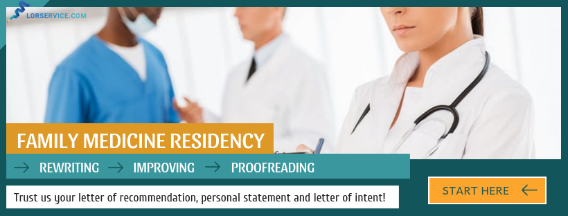how to write a good family medicine letter of recommendation
