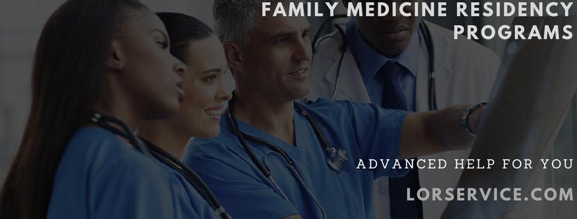 Family Medicine Programs Online Service