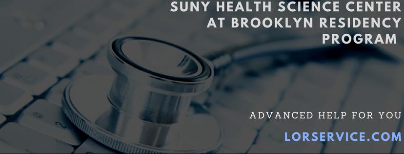 Suny Health Residency Program Online Service