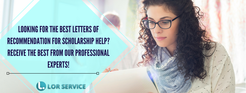 recommendation letter for scholarship best experts