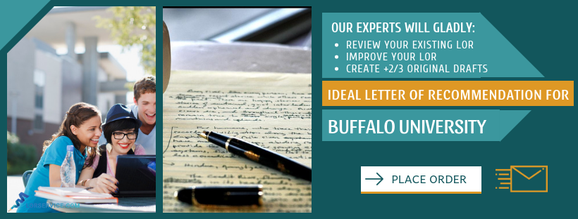 good university of buffalo recommendation letter
