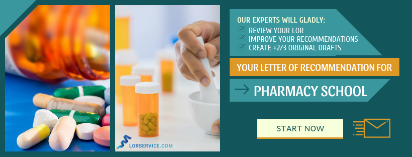 how to write a good letter of recommendation for pharmacy school