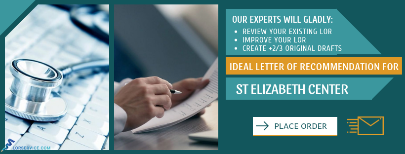 how to write the best st elizabeth recommendation letter