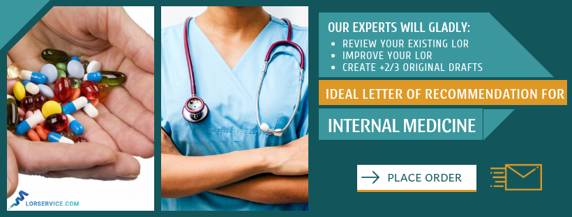 letter of recommendation for internal medicine residency writing help