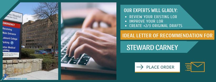 steward carney hospital recommendation letter