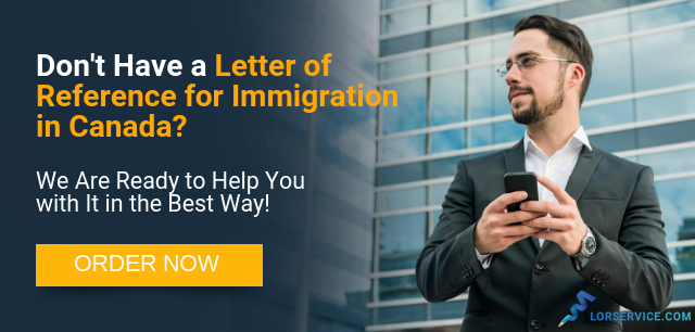 letter of reference for immigration in canada writing