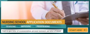 writing recommendation letter for nursing school